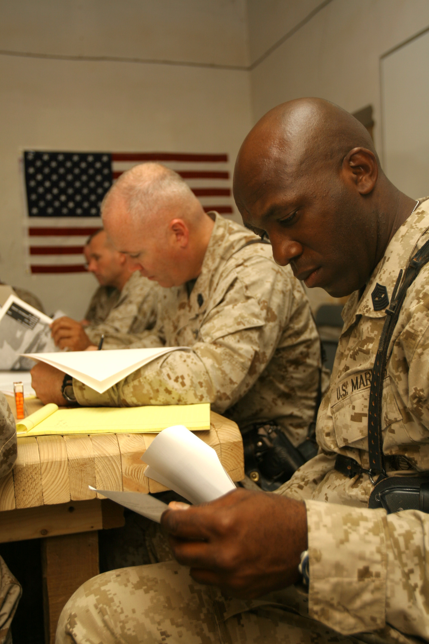 An inside look: A Marine Combat Meritorious Board