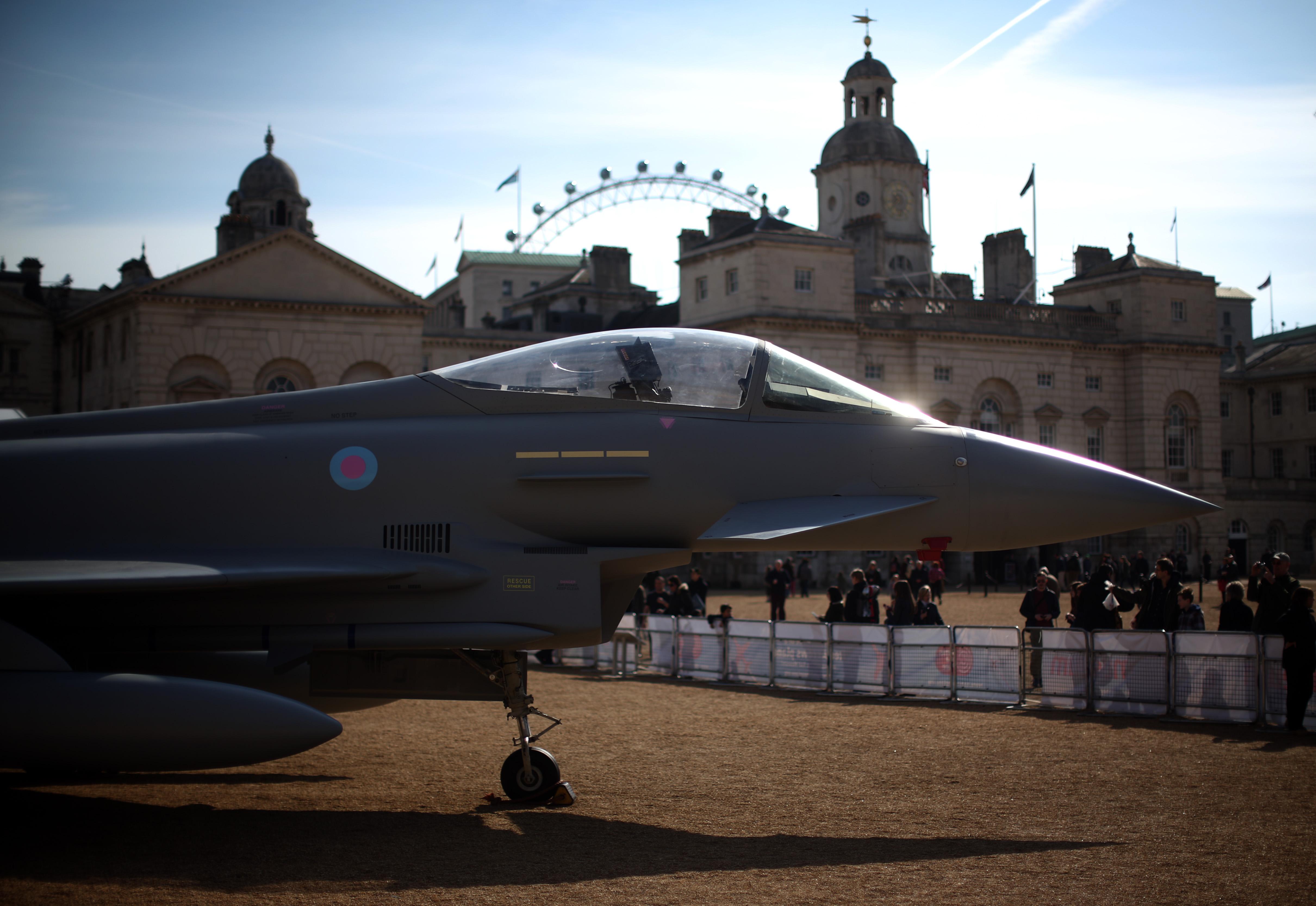 RAF Museum Assembles War Aircraft For Public Display