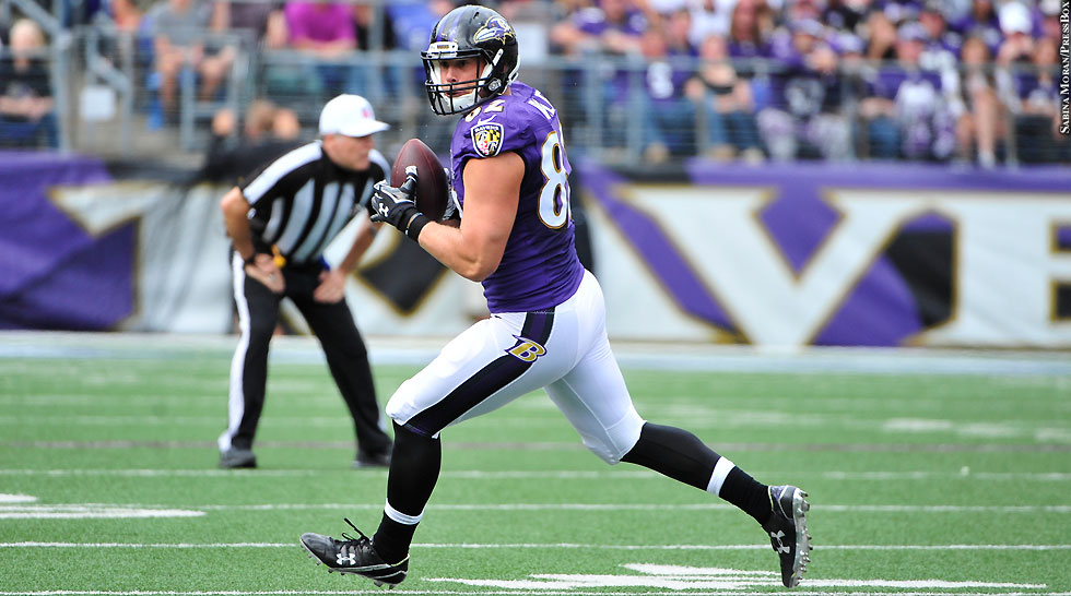 Ravens 2015: Nick Boyle (Week 3 vs. Bengals)