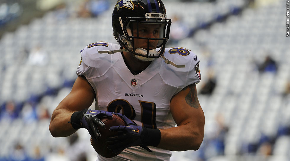 Ravens 2014: Owen Daniels (Week 5 vs. Colts)