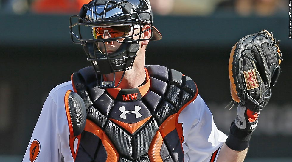 Orioles 2013: Matt Wieters (behind the plate)