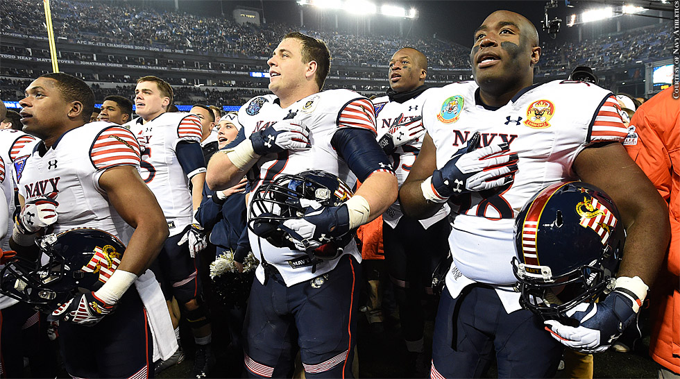 Navy Football 2014: Army-Navy Game (Anthem)