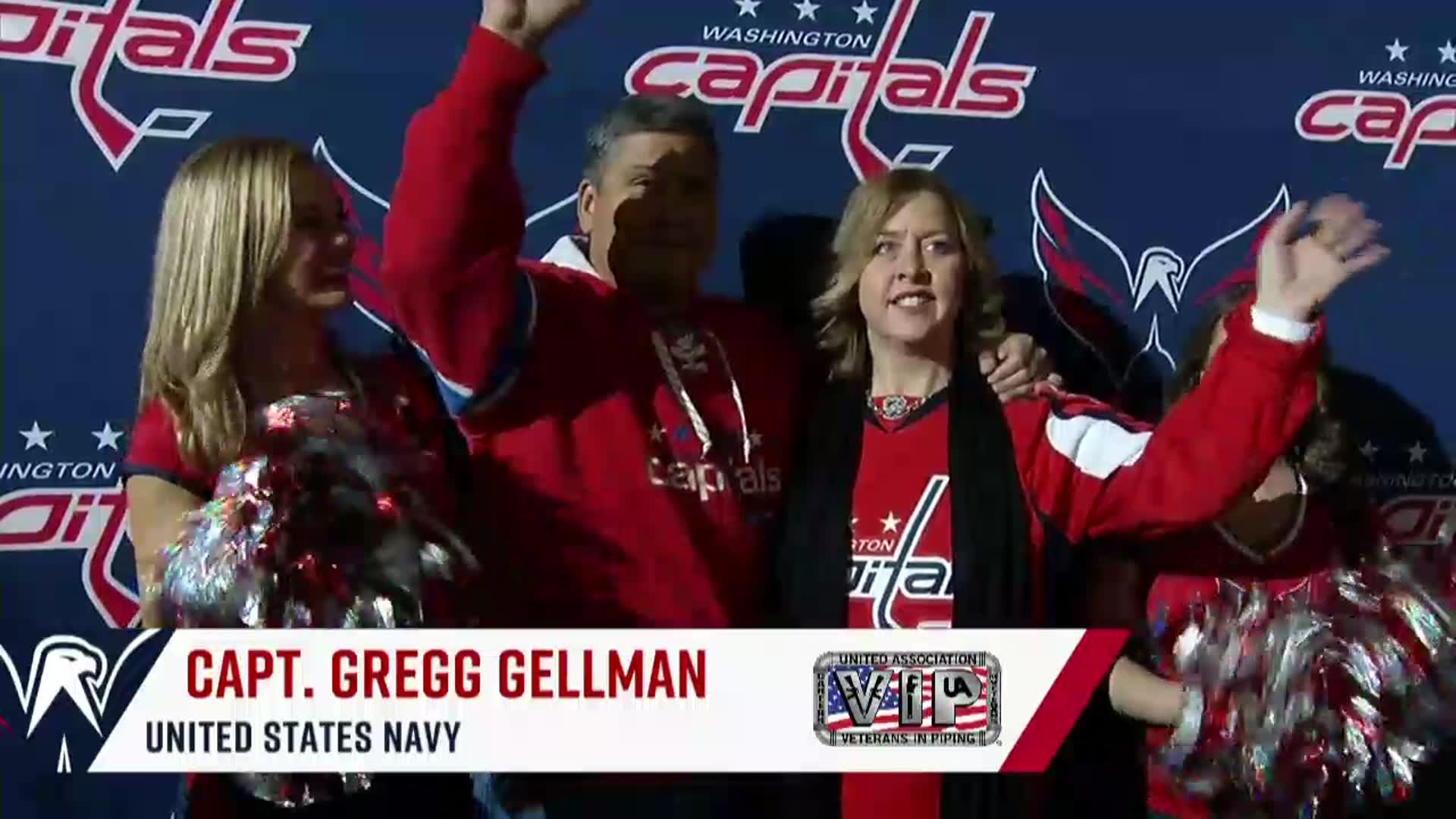 #CapsHabs Salute to the Troops 1/19/18