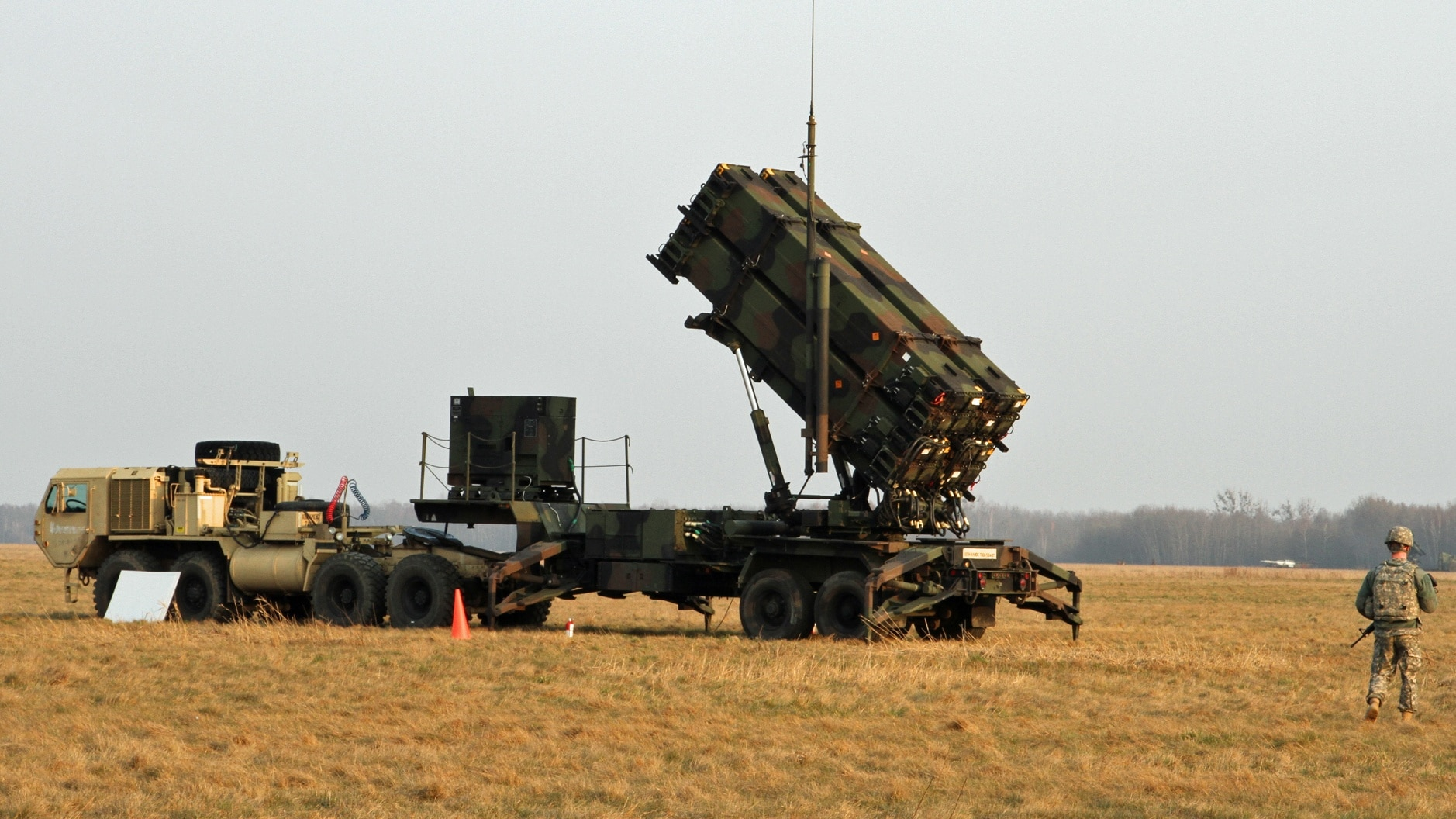 Patriot missiles deployed in NATO exercises in Baltics
