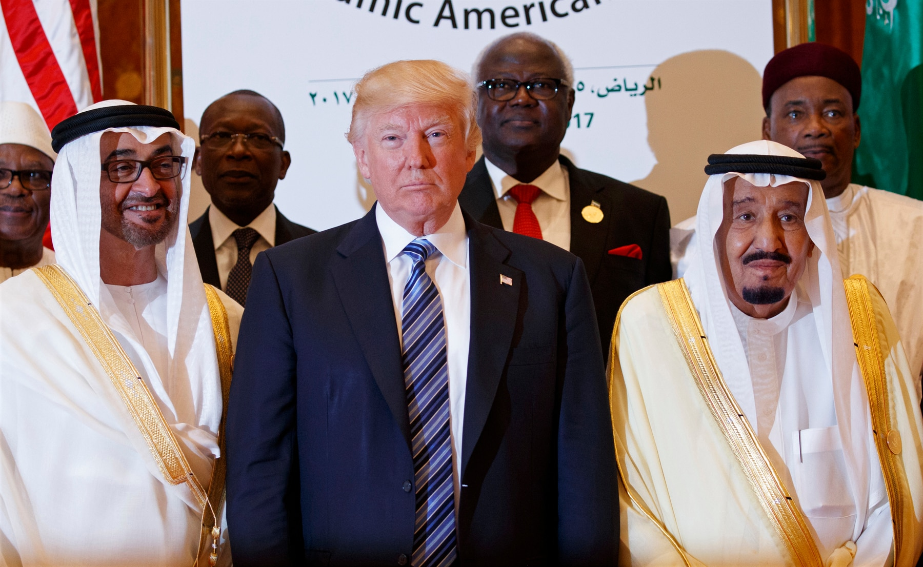 Trump's wife keeps her head bare during Saudi Arabia visit