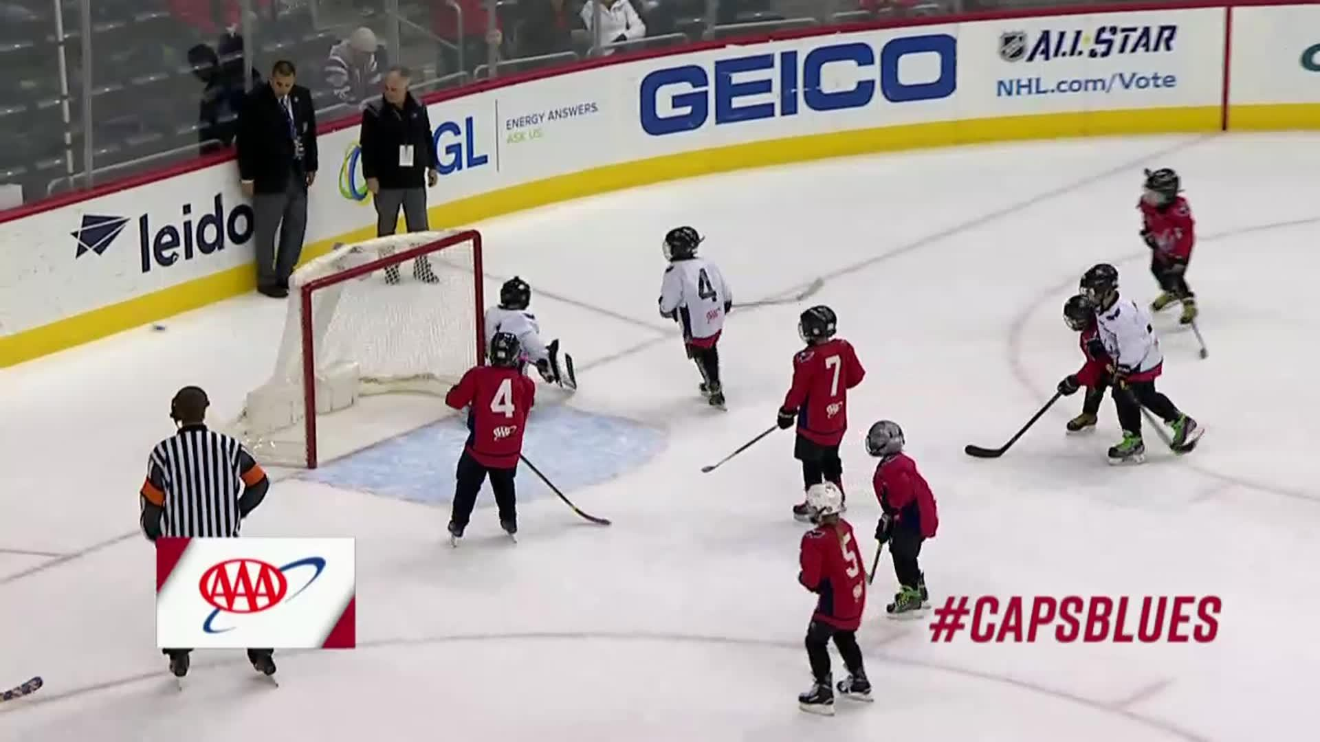 #CapsBlues Mites on Ice 1/7/18