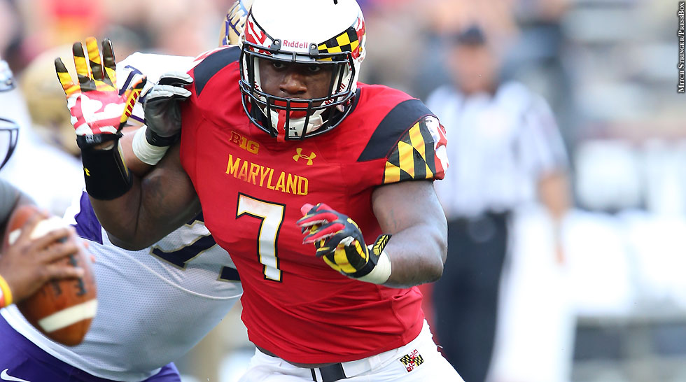 Maryland Terps Football 2014: Yannick Ngakoue