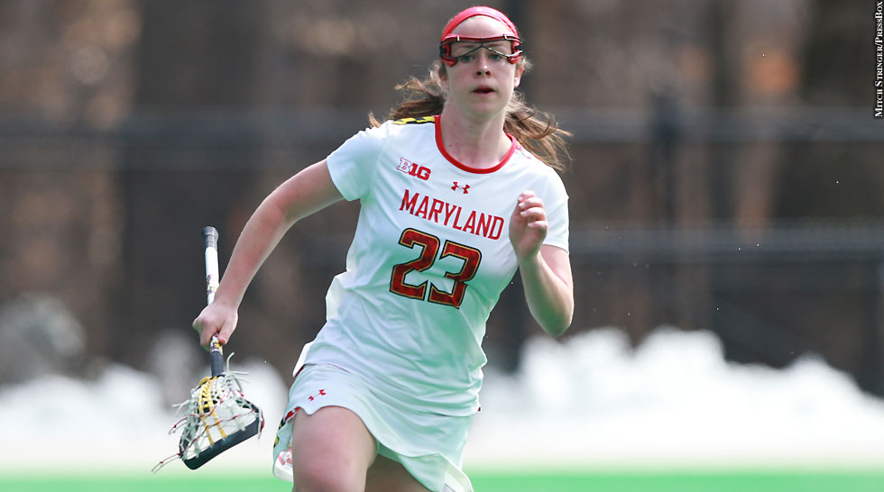 Terps Maryland Women's Lacrosse 2015: Megan Whittle