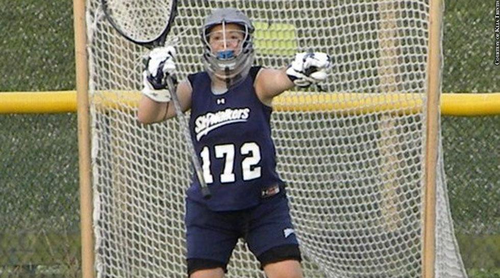 Lacrosse 2016: Klia Trintis (St. Paul's School For Girls)