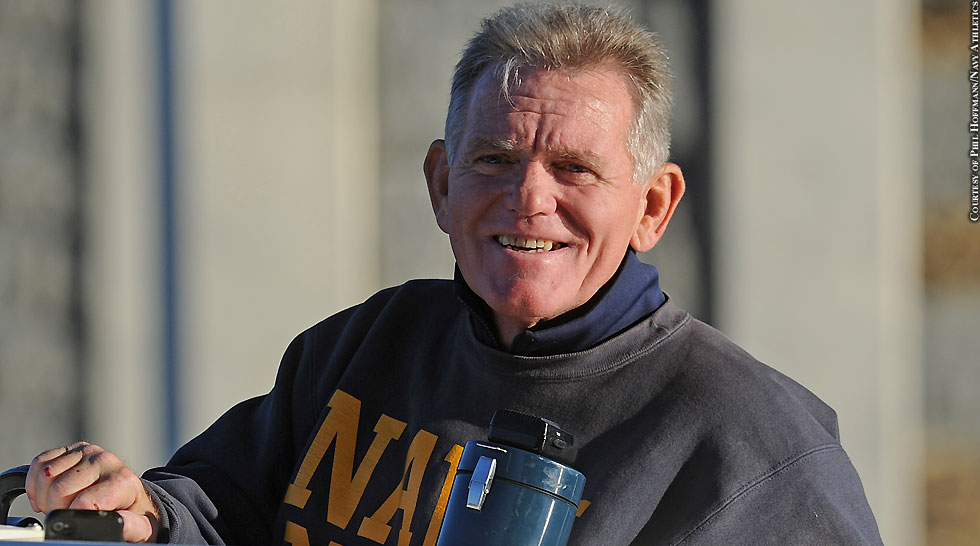 Issue 212: Navy Women's Rowing Coach Mike Hughes (retired)