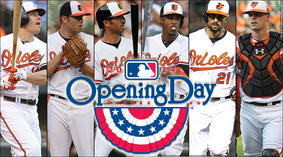 Orioles 2014: Opening Day graphic