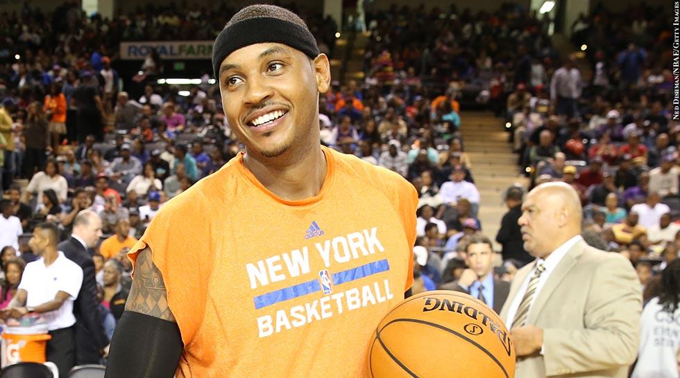 NBA 2013: Carmelo Anthony