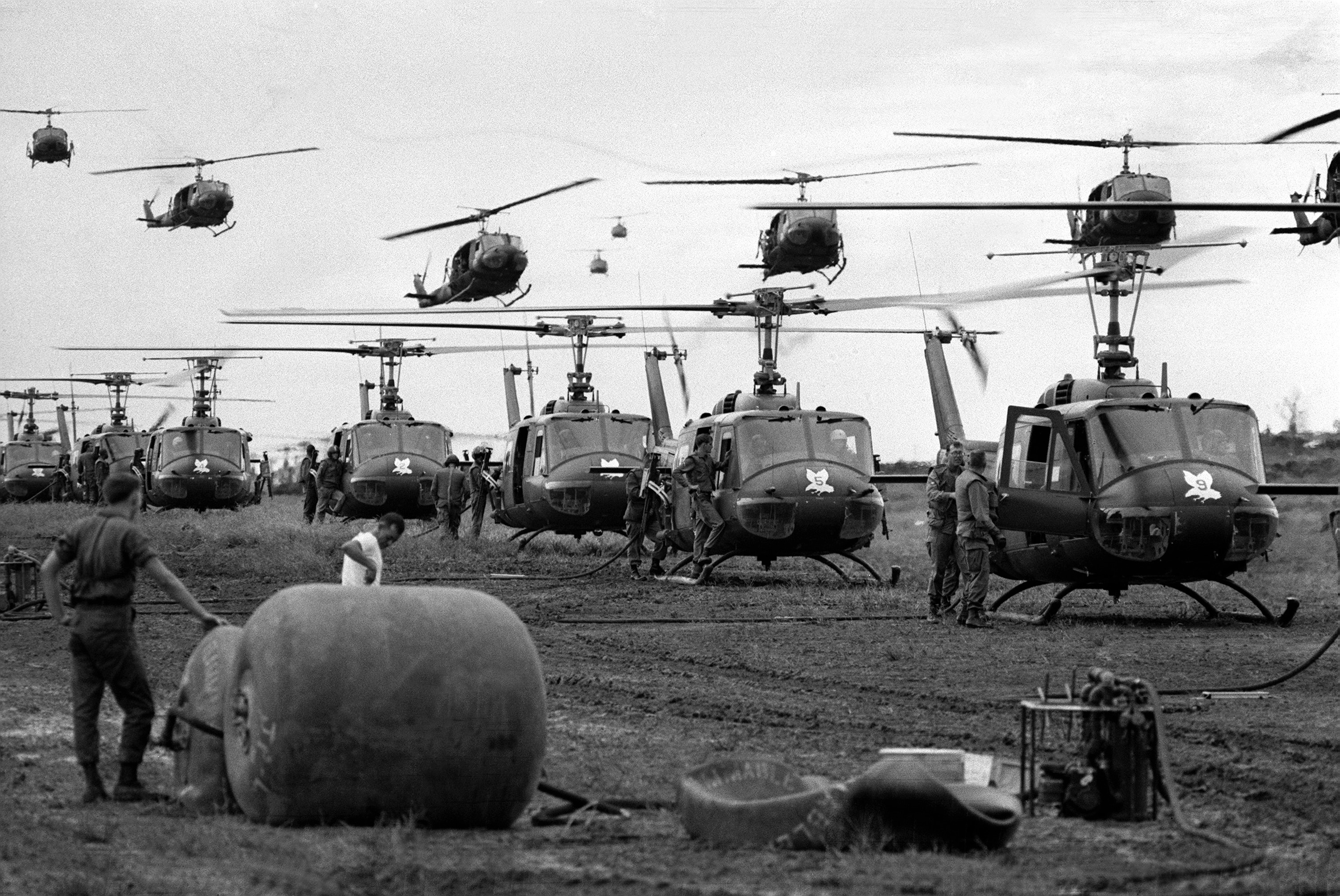 Black Cat Helicopter Vietnam