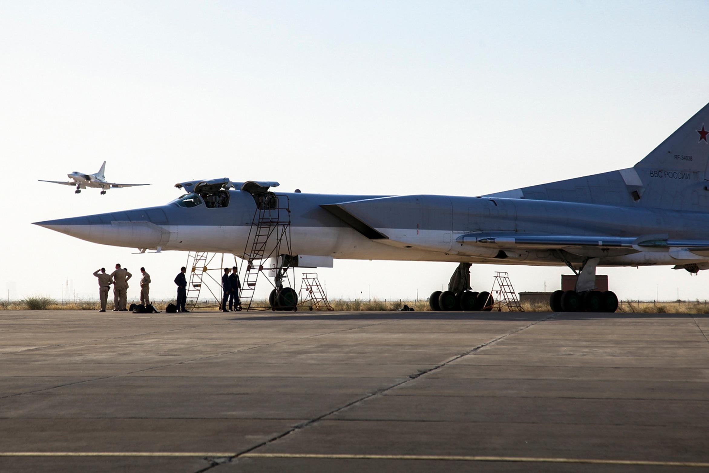 Russia Tu-22M3 in Syria