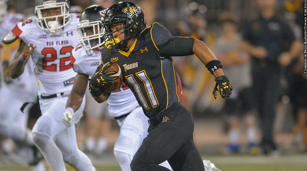Towson Football 2015: Jacquille Veii