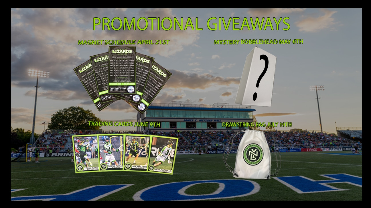 Promotional giveaways at sporting events