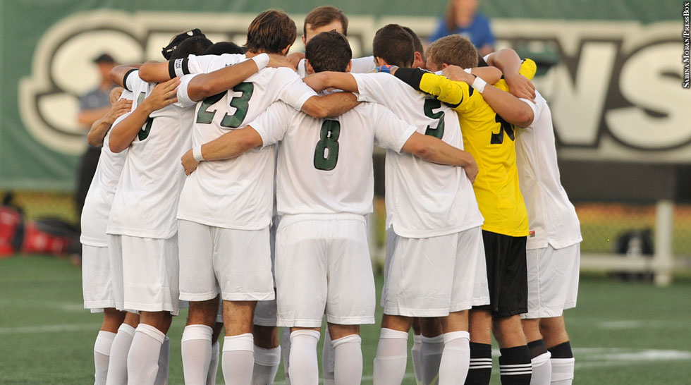 Issue 191: Stevenson Soccer (huddle)
