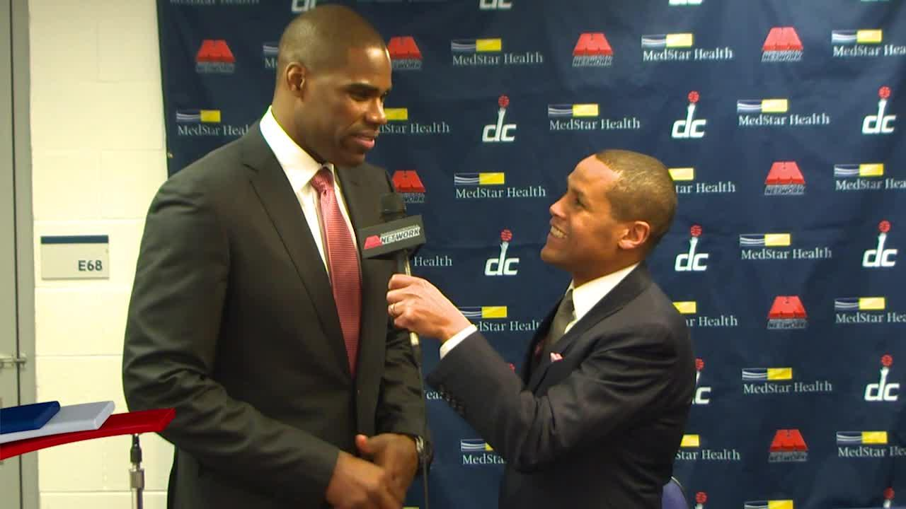 Courtside Report Antawn Jamison