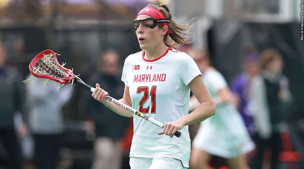 Terps Maryland Women's Lacrosse 2015: Taylor Cummings (March 21)