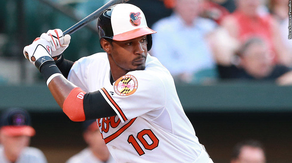 Orioles 2015: Adam Jones (at bat 2)