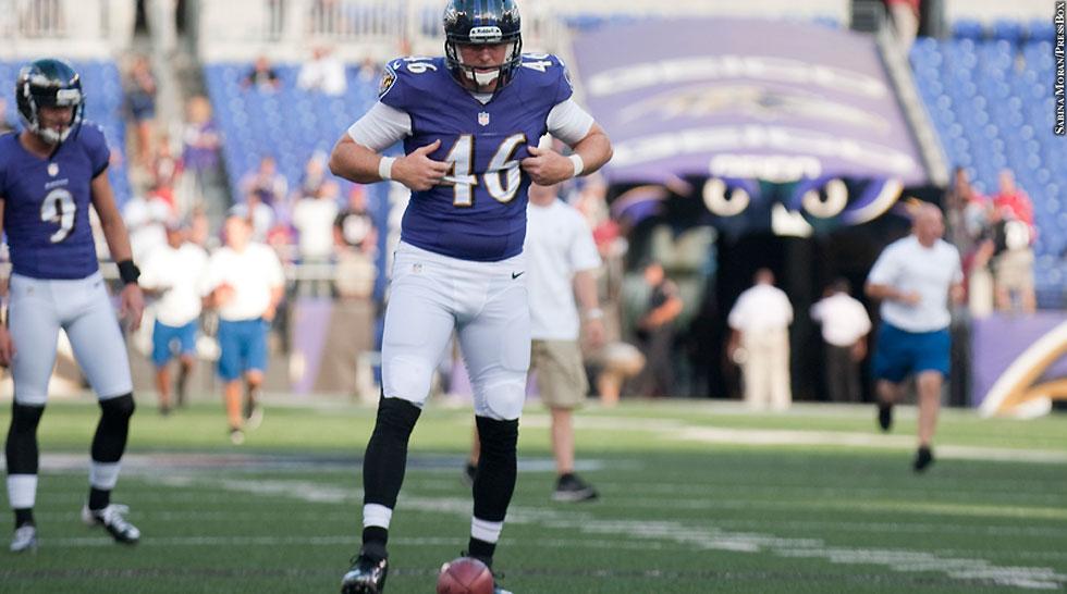 Ravens 2013: Morgan Cox