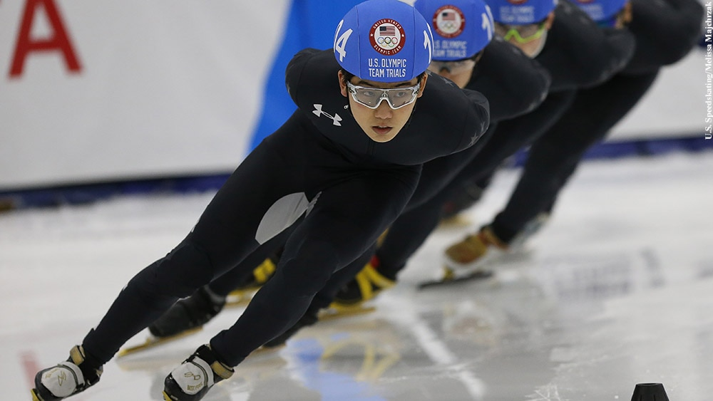 2018 Winter Olympics: Thomas Hong