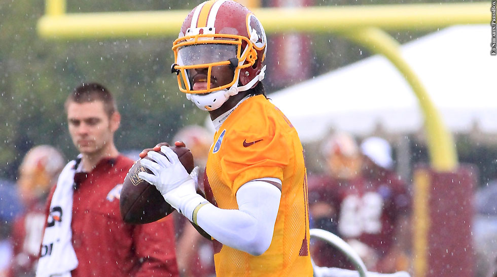 Redskins 2014: Robert Griffin III (throwing)