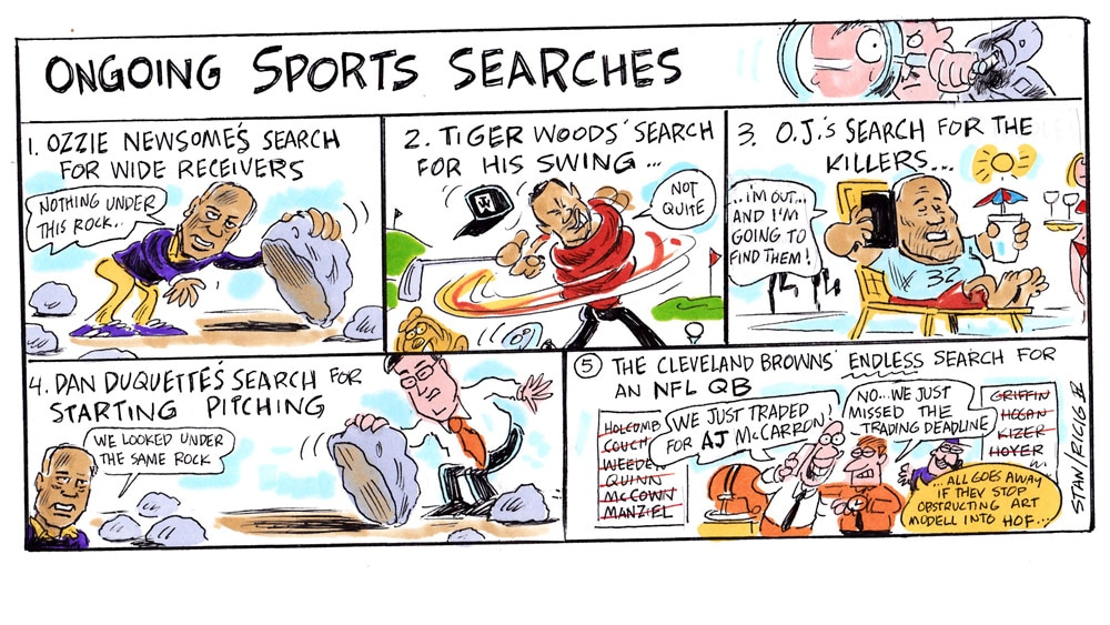 Issue 239: Ricig: Ongoing Sports Searches