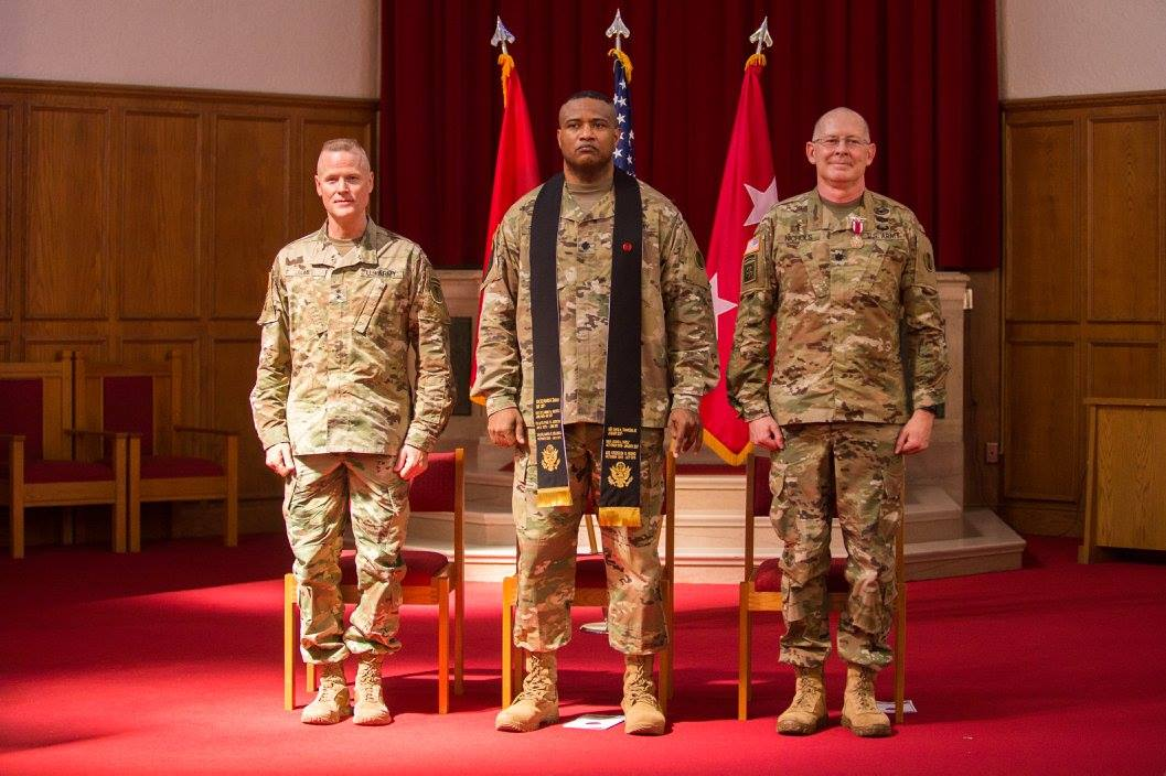 Lt. Col. Khallid Shabazz Change of Stole ceremony