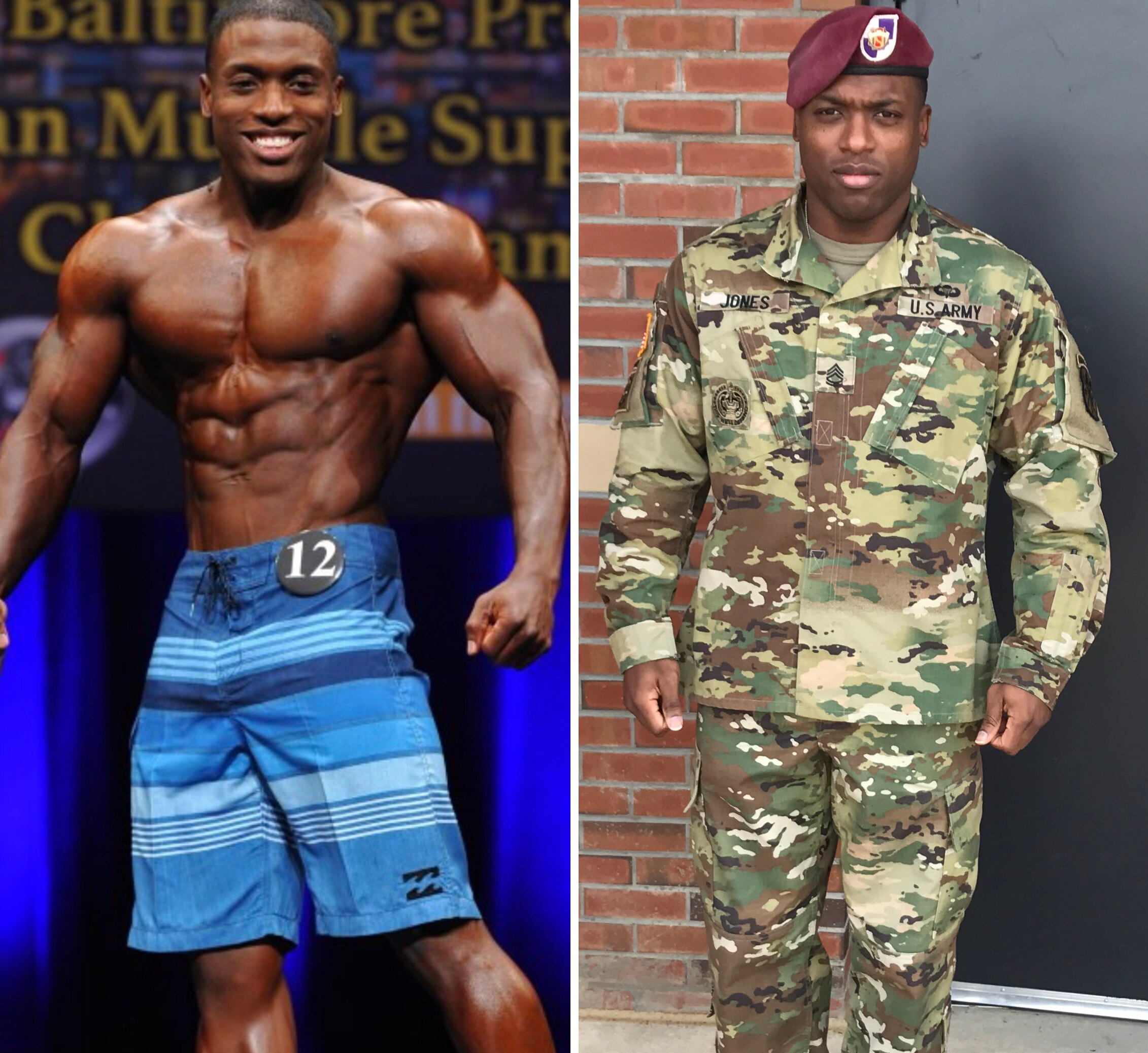 Army Sgt. 1st Class Dante Jones