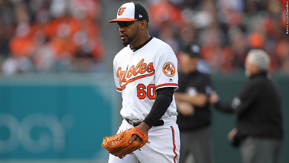 Orioles 2019: Mychal Givens (Opening Day)