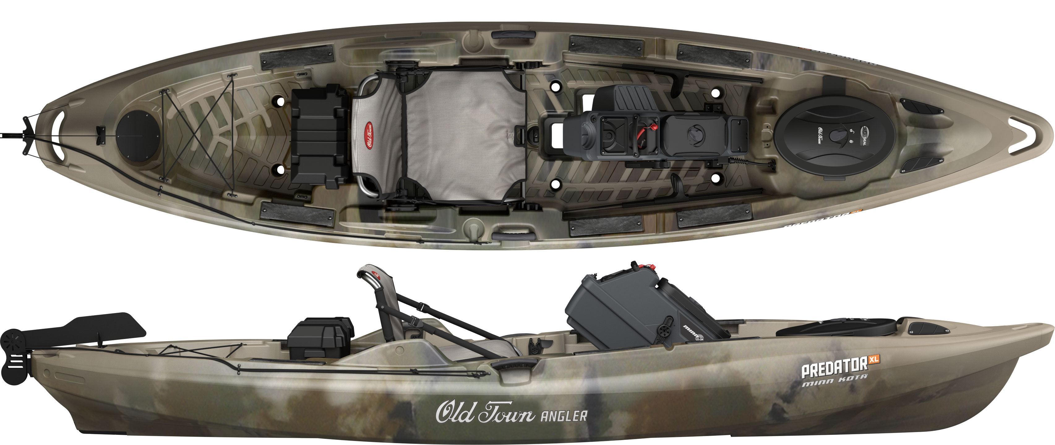 Old Town Predator Xl >> GearScout: Fishing easy and fishing on the go