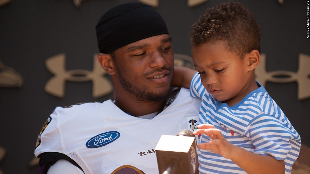 Issue 236: Photo of the Month: Jimmy Smith and son