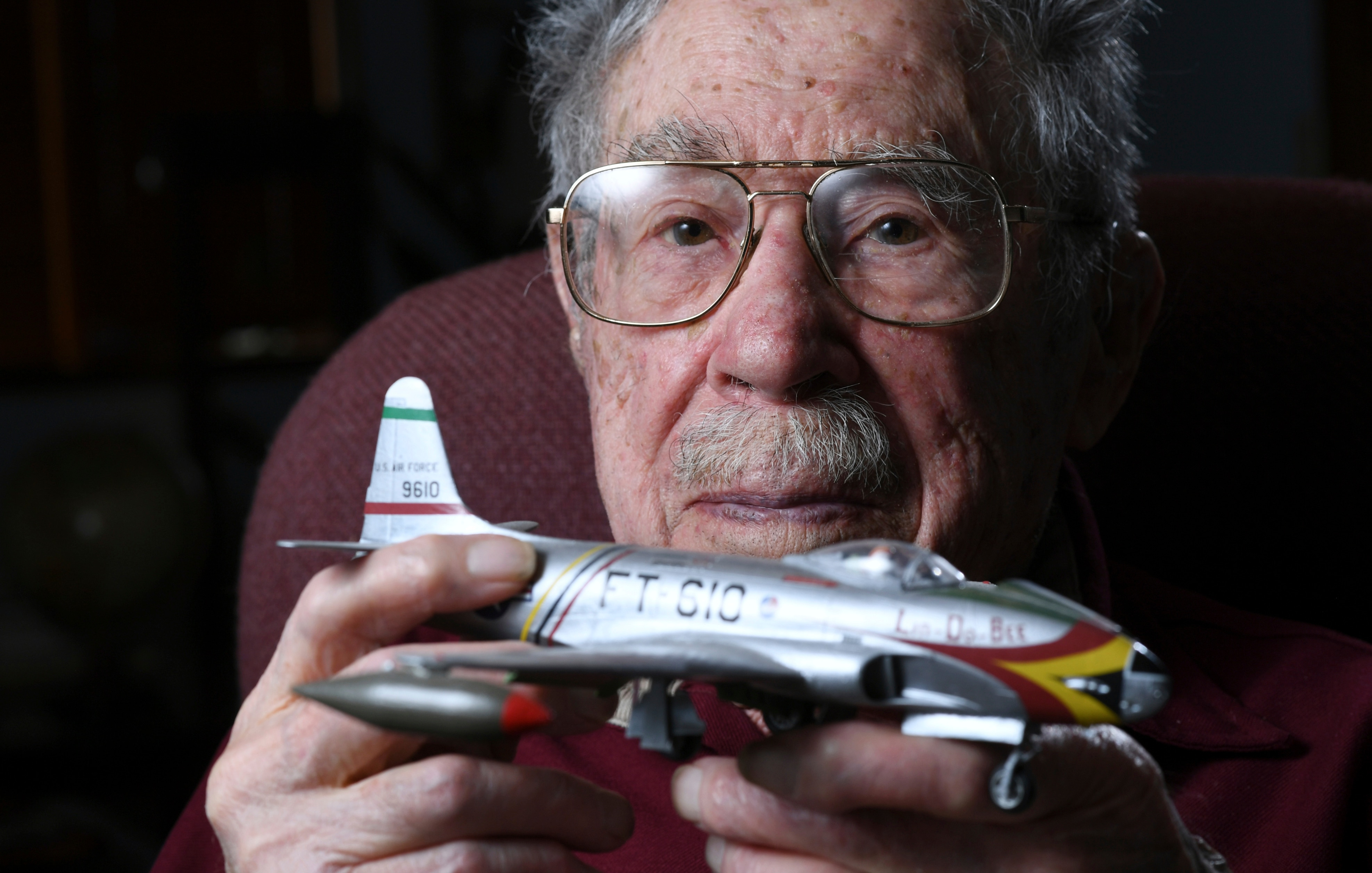 "Retired Air Force Col. Oliver ""Ollie"" Cellini 1"