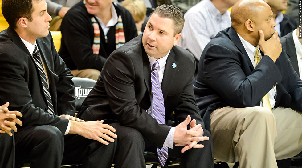 Issue 194: Towson Basketball 2013-14: Pat Skerry