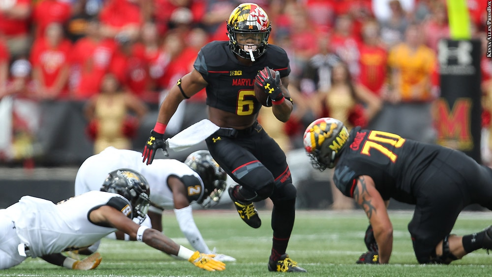Issue 237: Maryland Terps Football 2017: Ty Johnson (Sept. 9 vs. Towson)