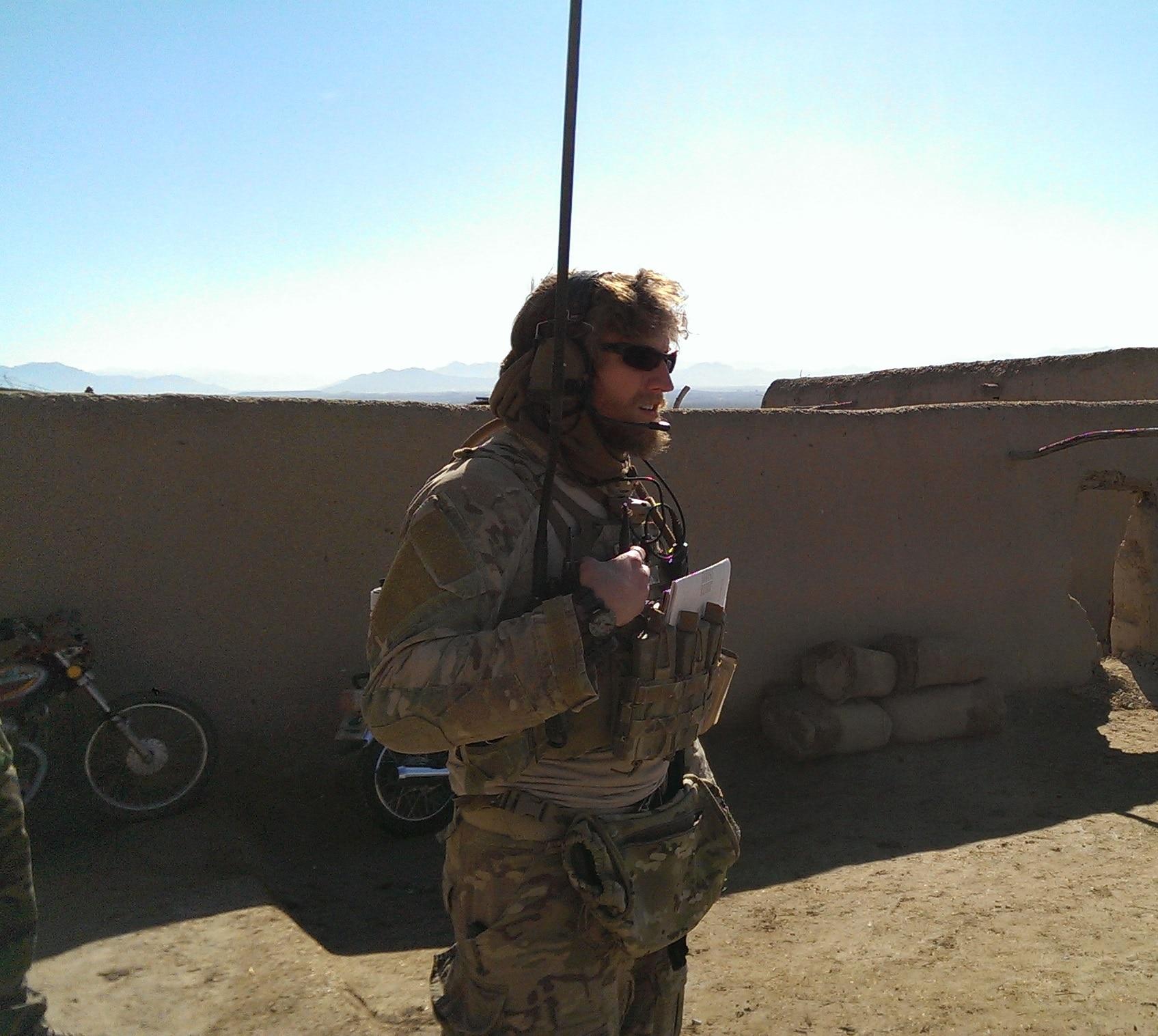 SSgt Keaton Thiem Afghanistan