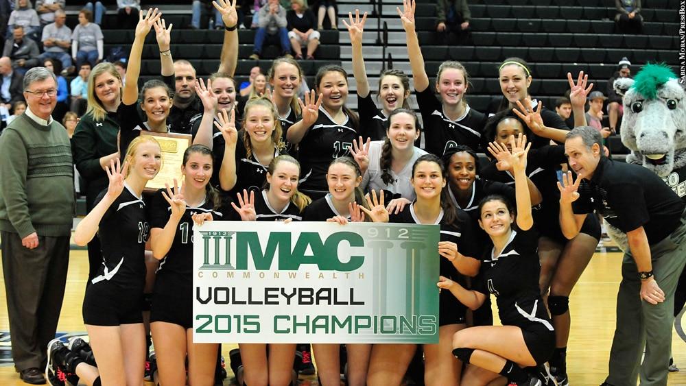 Issue 229: Stevenson University: 2015 Women's Volleyball