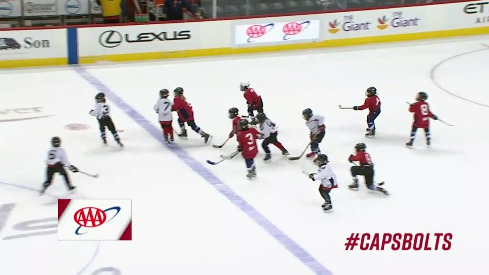 #CapsBolts Mites on Ice 11/24/17