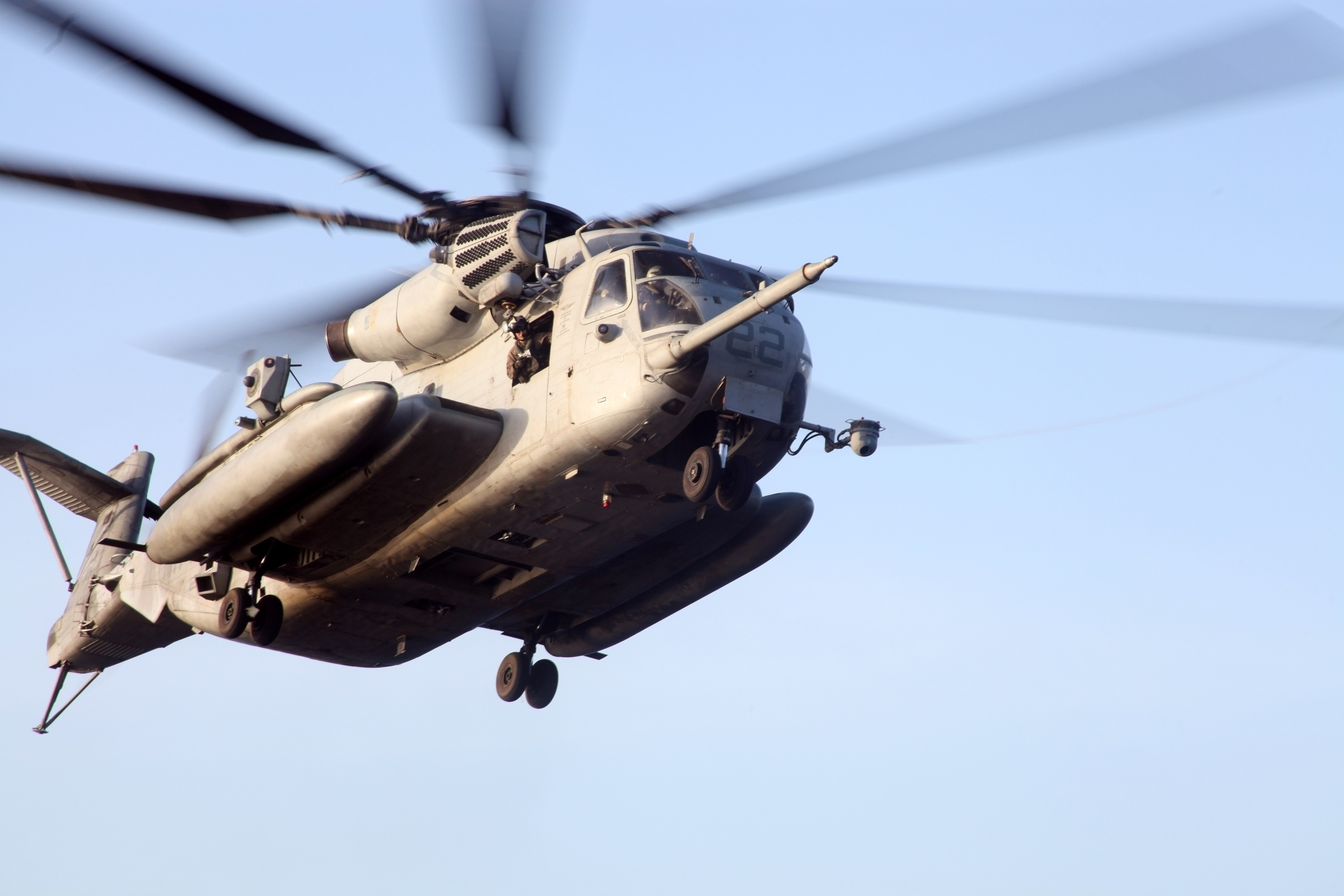 Always Ready: U.S. Marines fly, maintain readiness of CH-53s