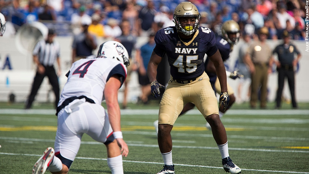 Navy enjoying success on field and the screen