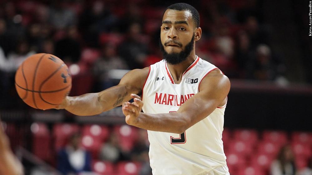 Maryland Terps Basketball 2018-19: Eric Ayala (passing)