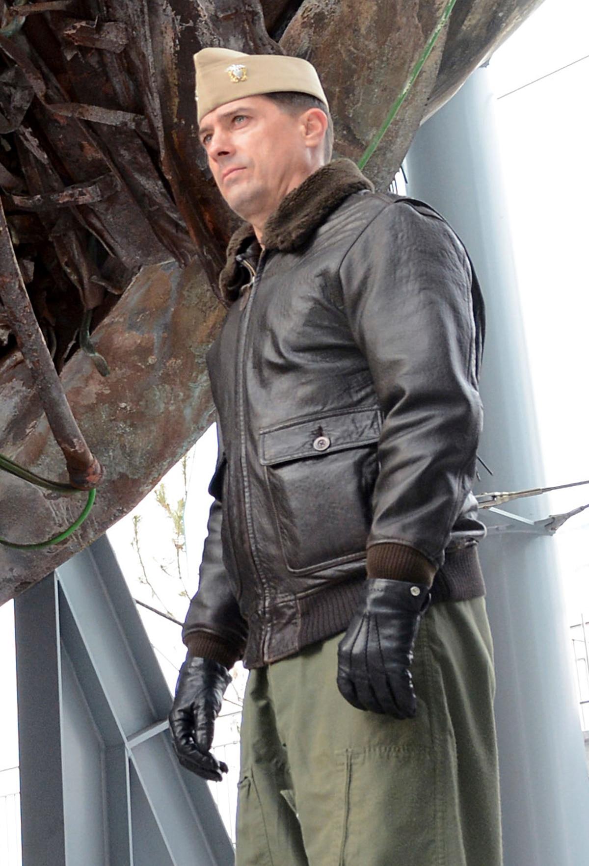 U.S. Navy Cmdr. David Morales