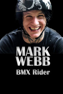Image of Mark Webb Pro BMX Rider