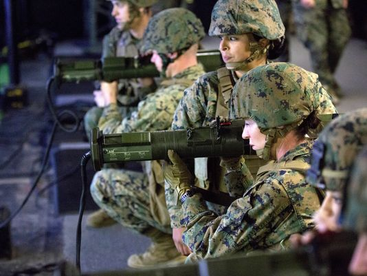 All Combat Jobs Now Open Qualified Female Marines