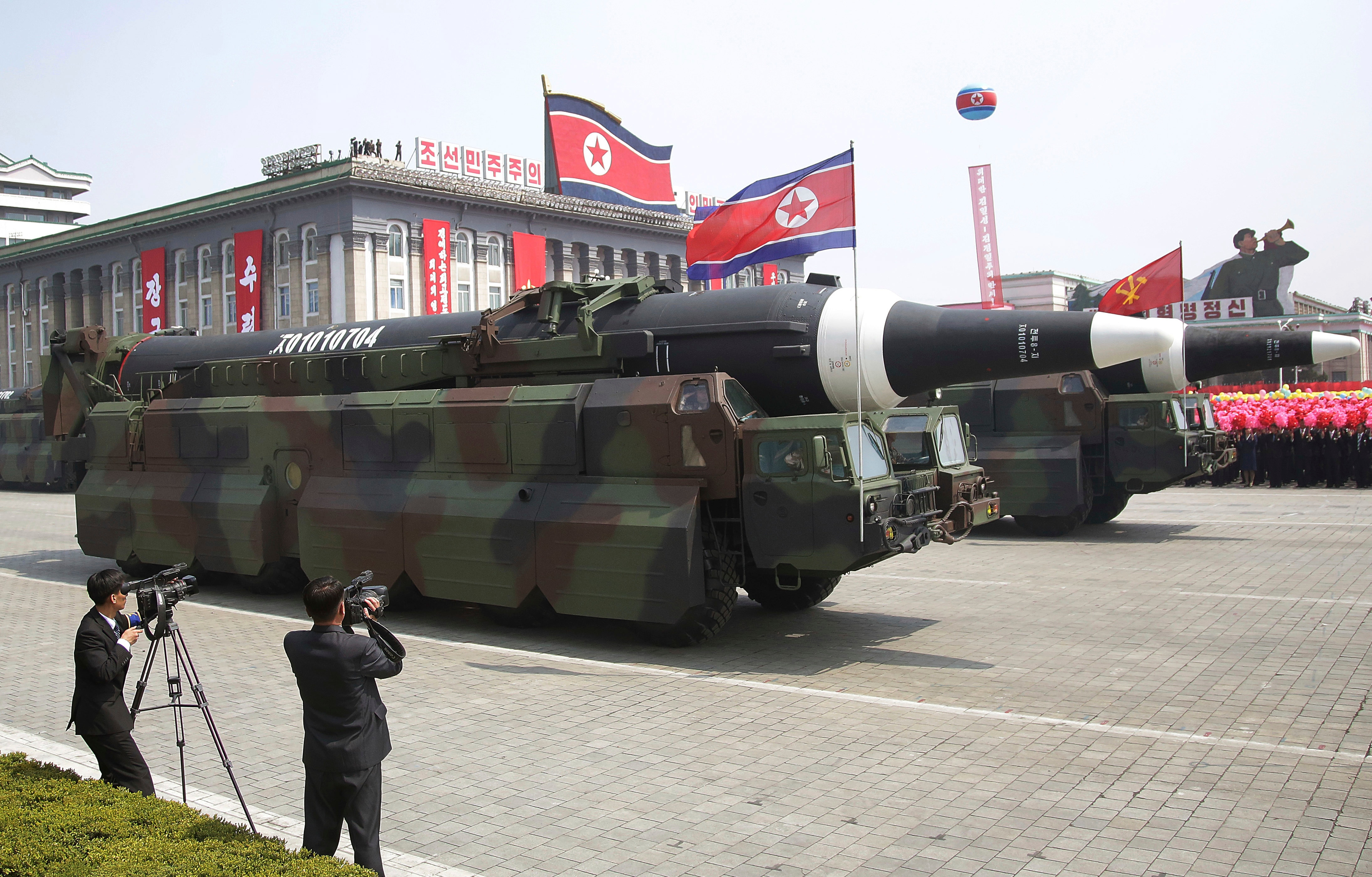 North Korea tries and fails to launch a missile
