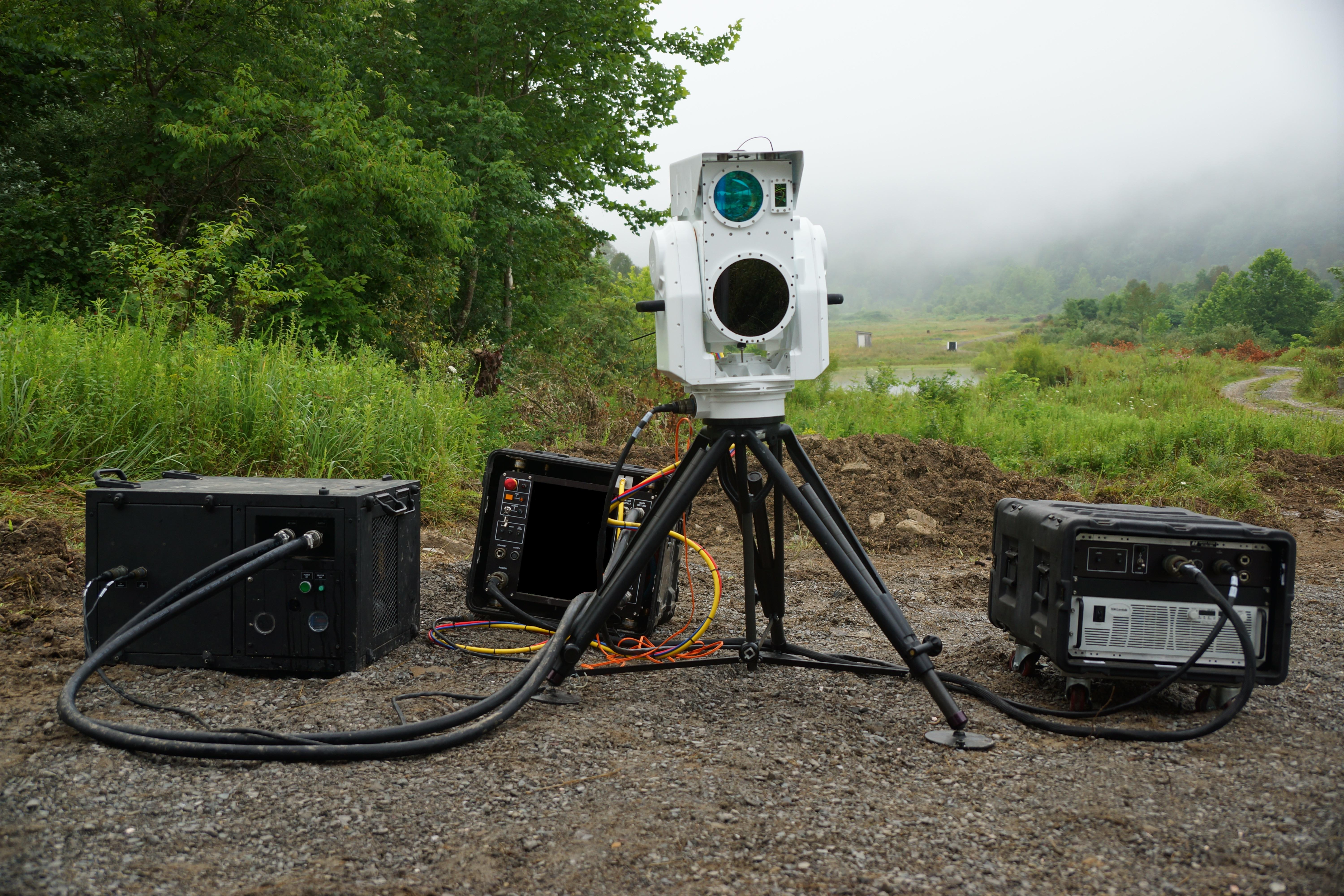 Boeing's Compact Laser Weapon System