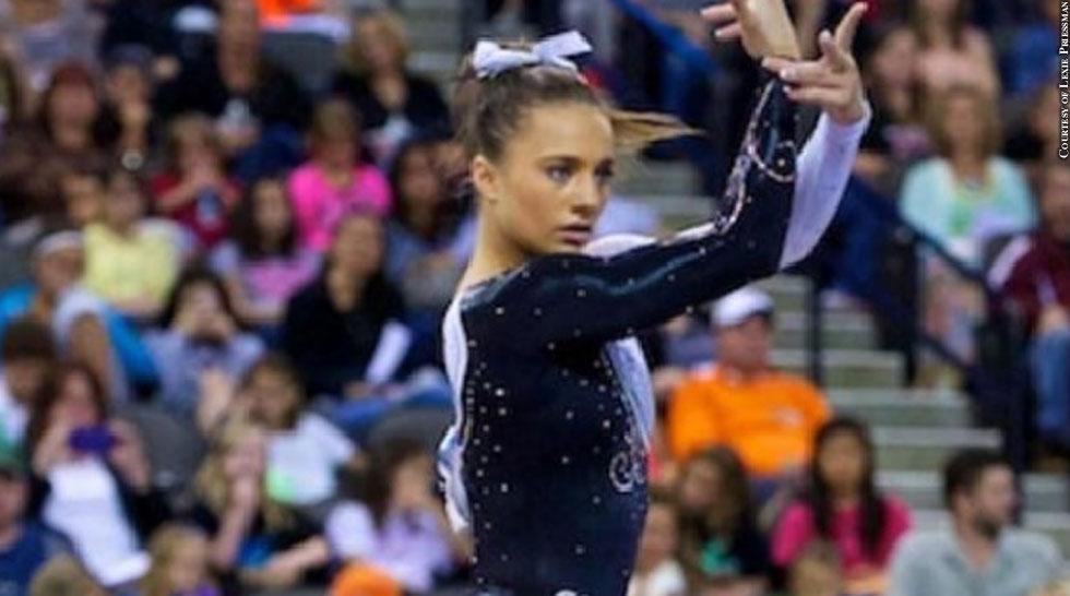 Gymnast: Lexie Priessman