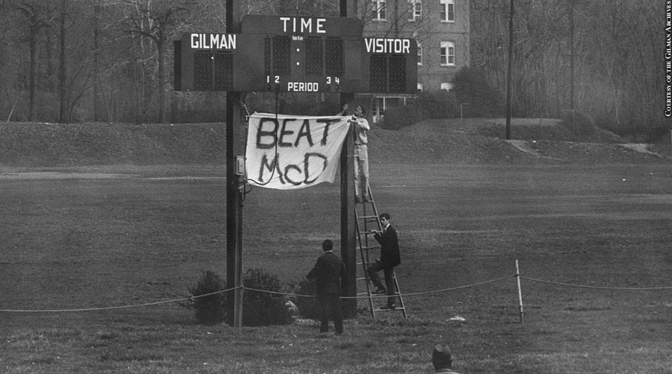 Issue 214: Gilman vs. McDonogh: 1966 Game