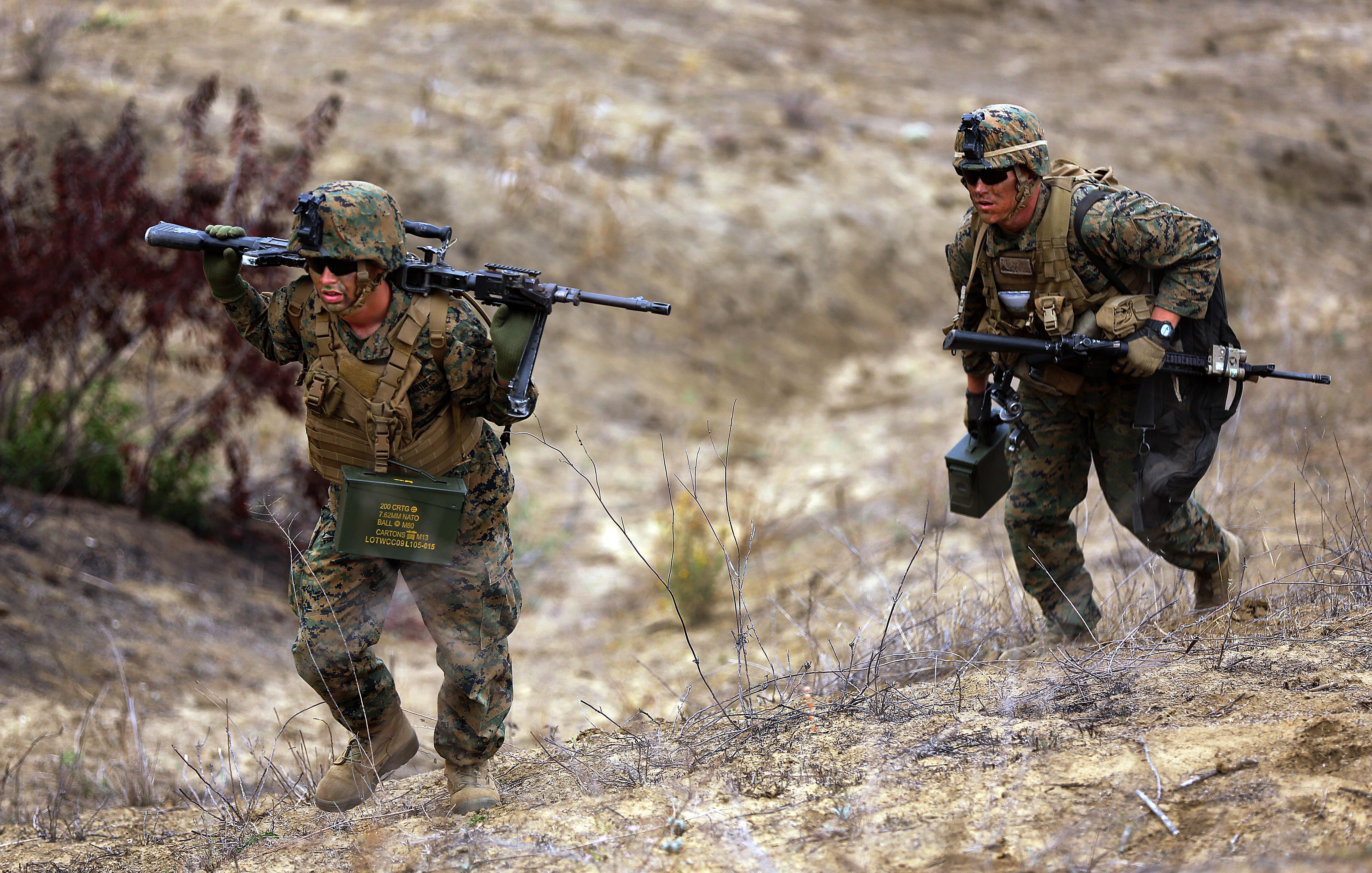 Advanced Infantryman Course conducts live fire training